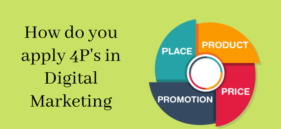 How do you apply 4P's in Digital Marketing
